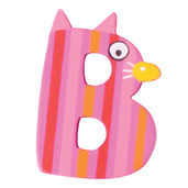 Crazy Animals Letter B (One Supplied - Designs Vary)