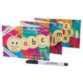 Insect Alphabet Line - Concertina Board Game with Pen