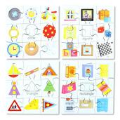 Shapes Puzzles Set 1 (Set of 4)