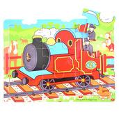Tray Puzzle Train