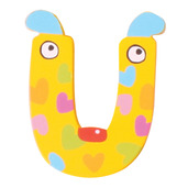 Crazy Animals Letter U (One Supplied - Designs Vary)