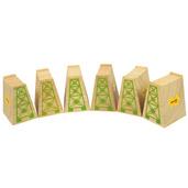 High Level Blocks (Pack of 6)