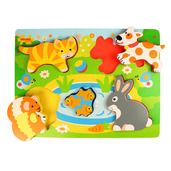 Chunky Lift Out Pets Puzzle