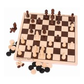 Draughts and Chess Set