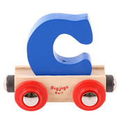 Rail Name Letter C (Dark Blue)