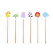 Safari Animal Pencils (Pack of 6)