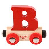 Rail Name Letter B (Red)
