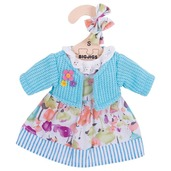Turquoise Cardigan and Dress (for 28cm Doll)