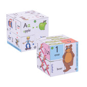 Pre-School Cubebook Pack - Alphabet and Numbers Cubebooks
