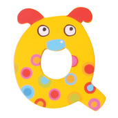 Crazy Animals Letter Q (One Supplied - Designs Vary)