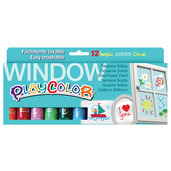 Window One 10g (Pack of 12 - Assorted Colours)