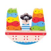 Rocking Pirate Boat