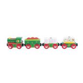 Dinosaur Railway Engine and Train Cars
