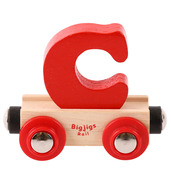 Rail Name Letter C (Red)