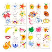 Shapes Set 2 Pegged Puzzles (Set of 4)