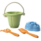 Sand Play Set (Green)