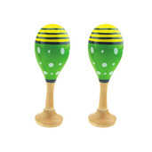 Junior Maracas (One Pair - Green)