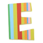 Spots & Stripes Letter E (Stripes)