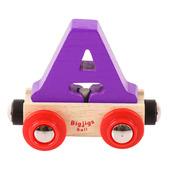 Rail Name Letter A (Purple)