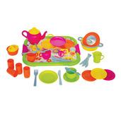 Dinner Service (Pink - 40 Piece Set)