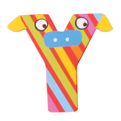 Crazy Animals Letter Y (Red/Yellow Cow)