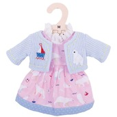 Polar Bear Pink Dress (for 34cm Doll)