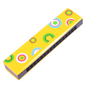 Snazzy Harmonica (Yellow)