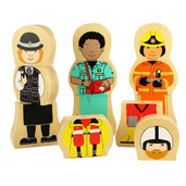 People Who Help Us Magnetic Puzzle