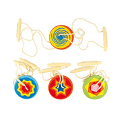 Wooden Spinners (Pack of 4)