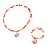 Cupcake Bracelet and Necklace (Cupcake)