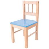 Wooden Chair (Blue)