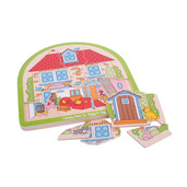 House Arched Puzzle