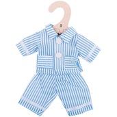 Blue Pyjamas (for 28cm Doll)