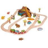 Dinosaur Railway Set