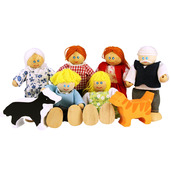Heritage Playset Doll Family