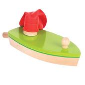 Balloon Powered Boat (Green)