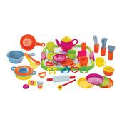 Dinner Service (Pink - 52 Piece Set)