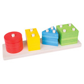 Shape Peg Board