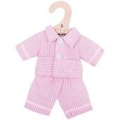 Pink Pyjamas (for 28cm Doll)