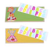 Name Plaque (Fairy) (Pack of 2 - Green and Yellow)