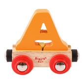 Rail Name Letter A (Orange)