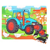 Tray Puzzle Tractor