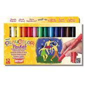 Basic Pocket 5g (Pack of 12 - Assorted Colours)