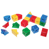 Super Snap Together Cubes Triangles and Sectors