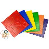 9 inch / 23cm Geometric Board (Set of 6)