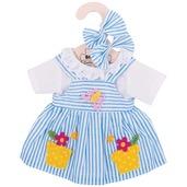 Blue Striped Dress (for 34cm Doll)