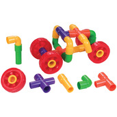 Pipetubes with Wheels (144 Pieces)