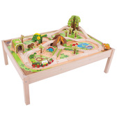 Dinosaur Railway Set and Table