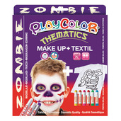 Basic Make Up Pocket 5g + Textil One 10g (Zombie Set)