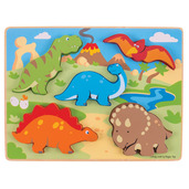 Chunky Lift Out Dinosaurs Puzzle